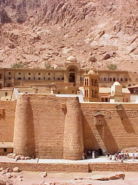 Saint Catherine's Monastery on Mount Sinai